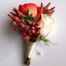 tied buttonhole