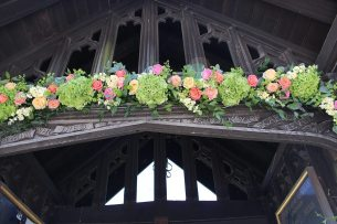 Arch on Lychgate at Remenham Church