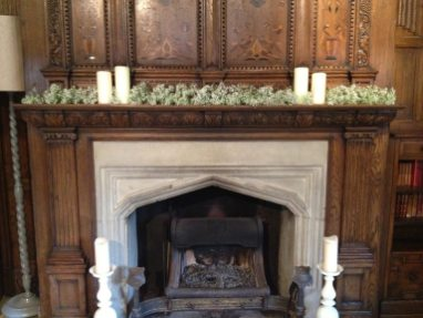 Gysopilia mantelpiece at The Olde Bell Hurley