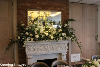 Mantelpiece at The Great House Sonning