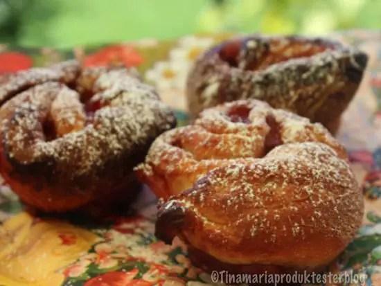 Köstliche Birnen-Holunder -Schnecken