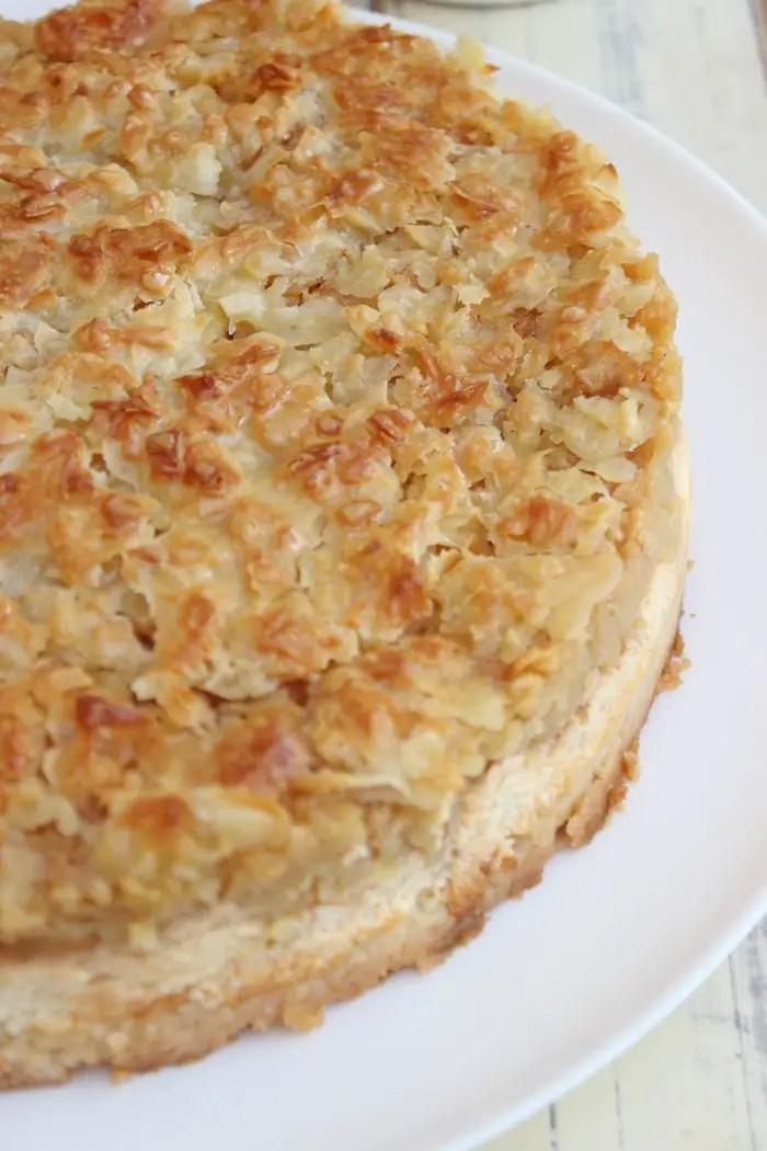 Apfel-Mandel-Käsekuchen Rezept
