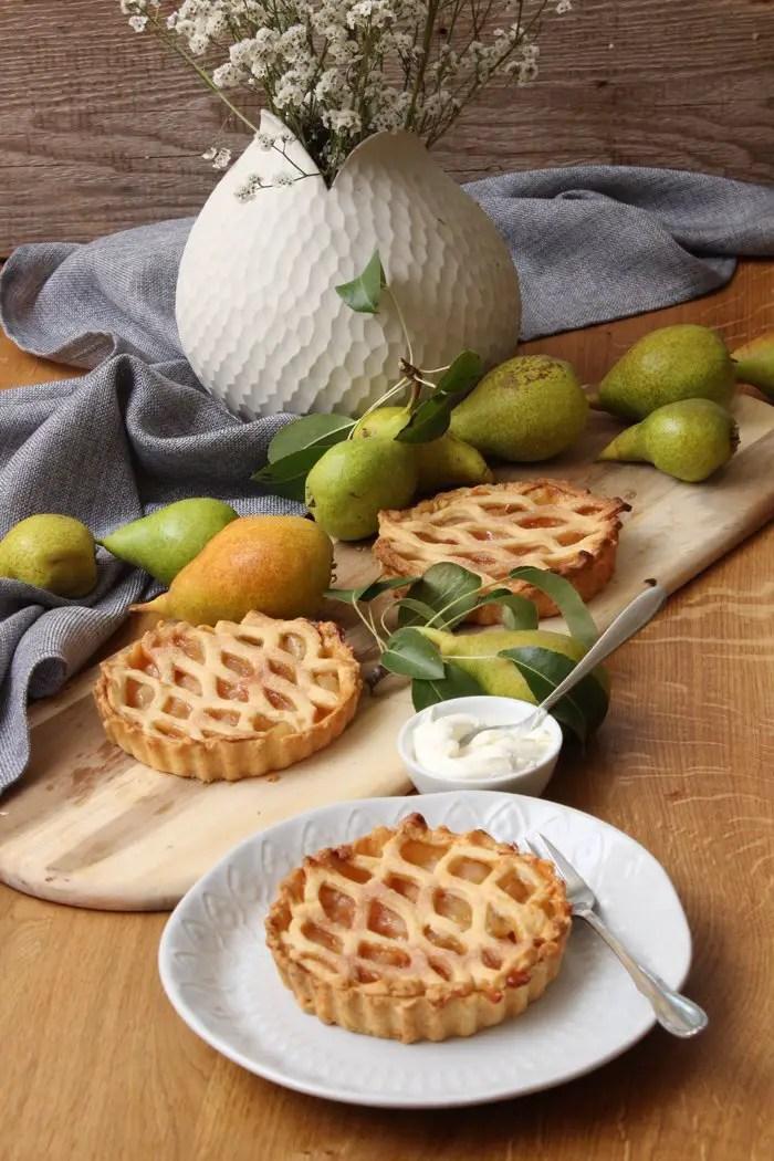 Birnen-Zimt-Pie Rezept