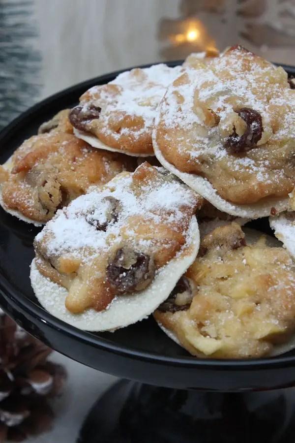 Weihnachtliche Bratapfel-Cookies