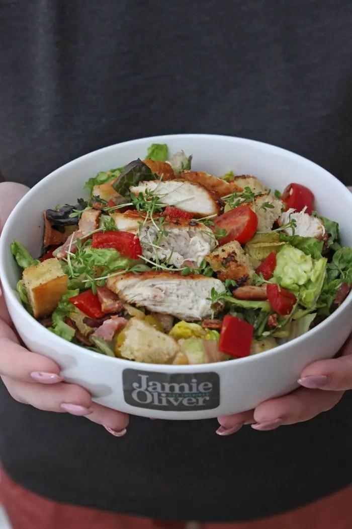 Caesar Salad a la Jamie Oliver