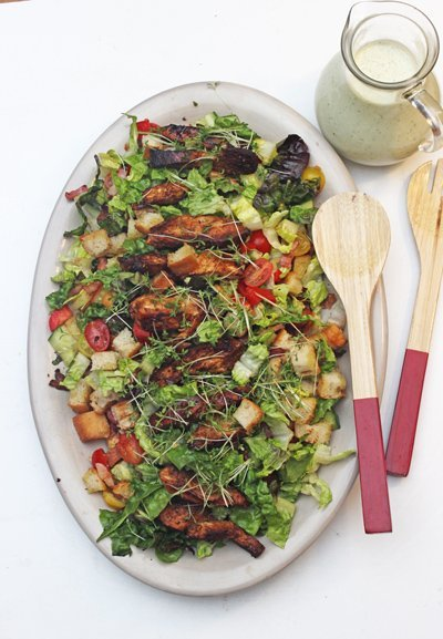 Caesar Salad a la Jamie Oliver – Aus 15 Minuten Küche