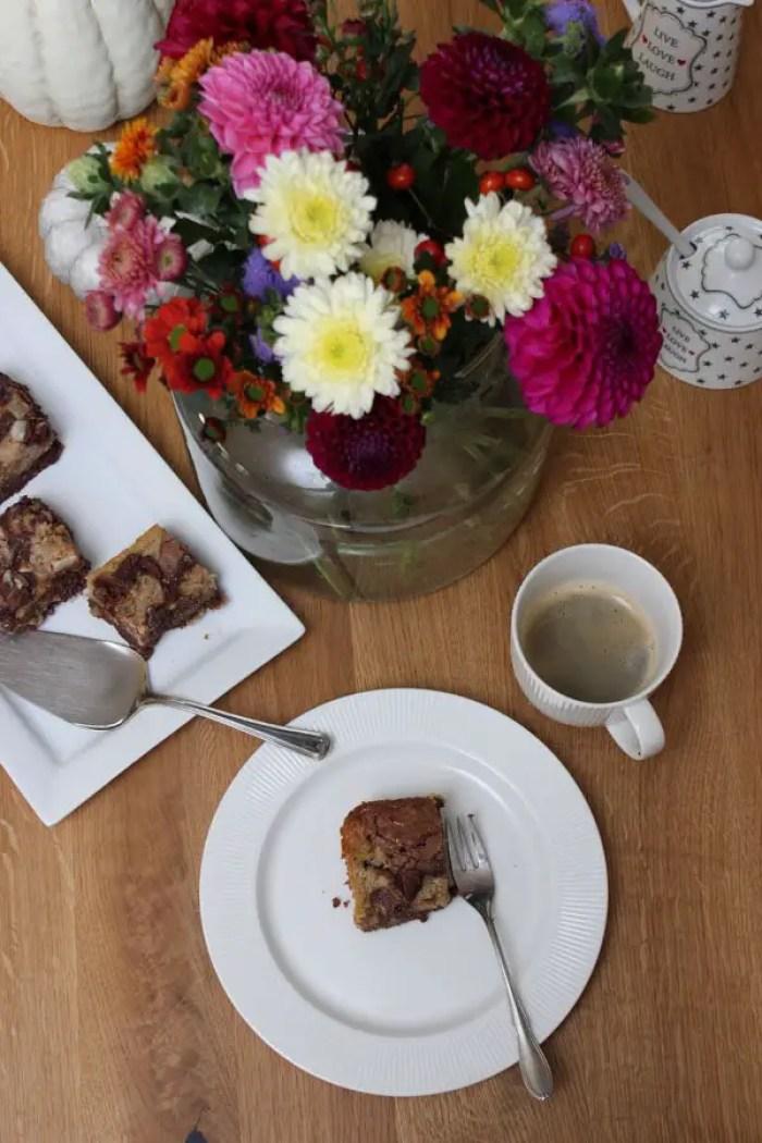 Kürbis-Haselnuss-Brownies