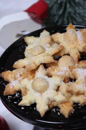 Weihnachtliche Macadamia-Sterne Rezept