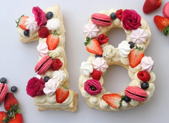 Number Cake & Letter Cake - Zahlentorte - Kekstorte