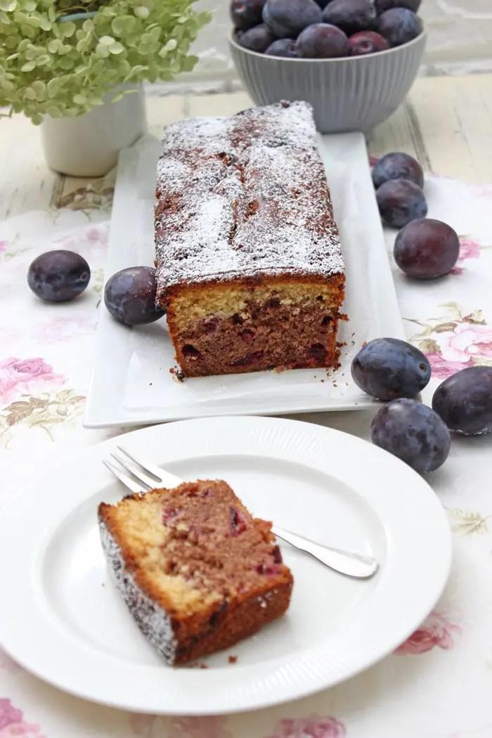 Zwetschgen-Swirl-Kuchen Rezept