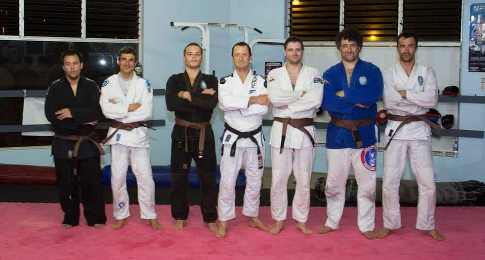 BJJ Brown Belt Grading Photos