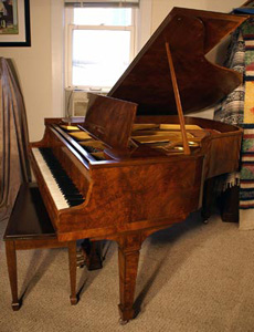 Knabe Bubinga Baby Grand - Sonny's Pianos