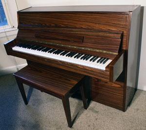 Schumann Console piano - Sonny\'s PianoTV