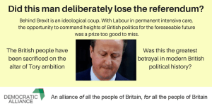 The deceit that made the Tory coup possible