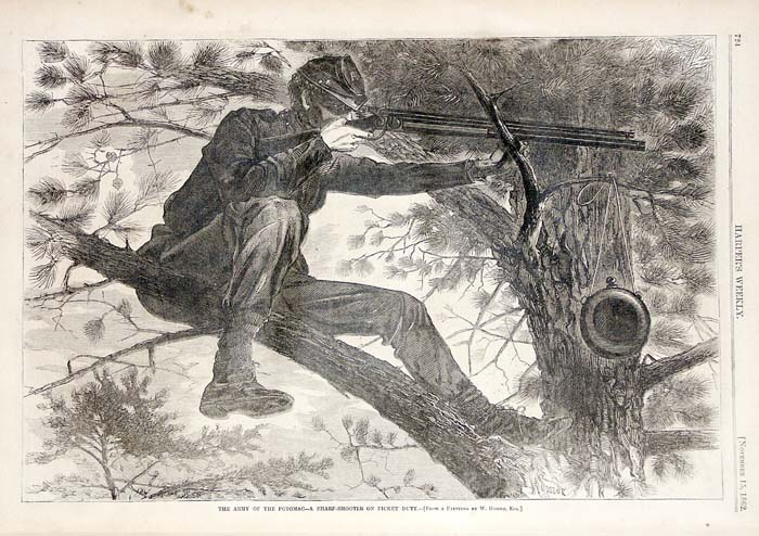 Image result for sharpshooter winslow homer