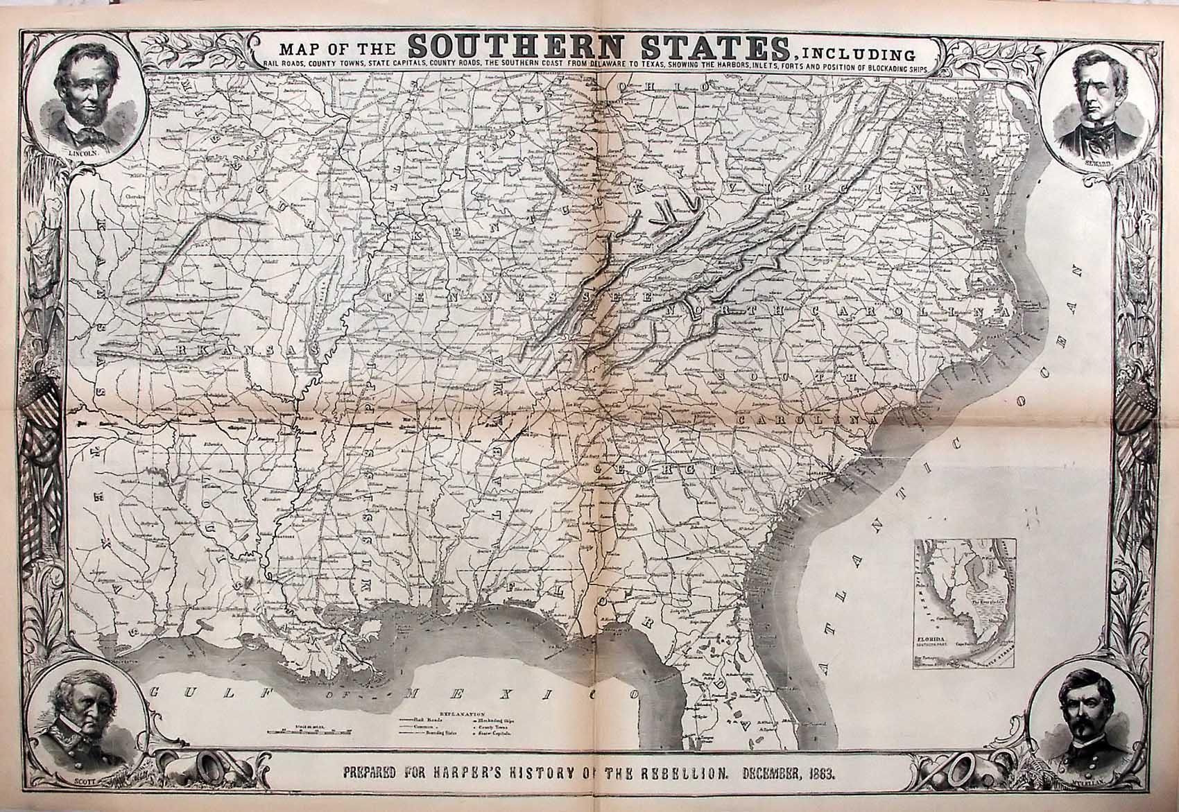 Old Civil War Maps