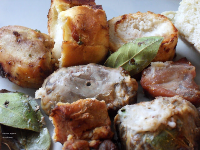 Arrosto di spiedini di carne alla fiorentina