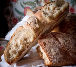 Ciambella intrecciata con farina di pinsa