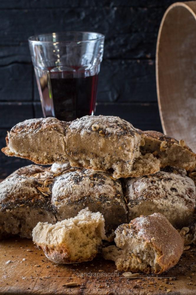 Pane a persiana con semi misti
