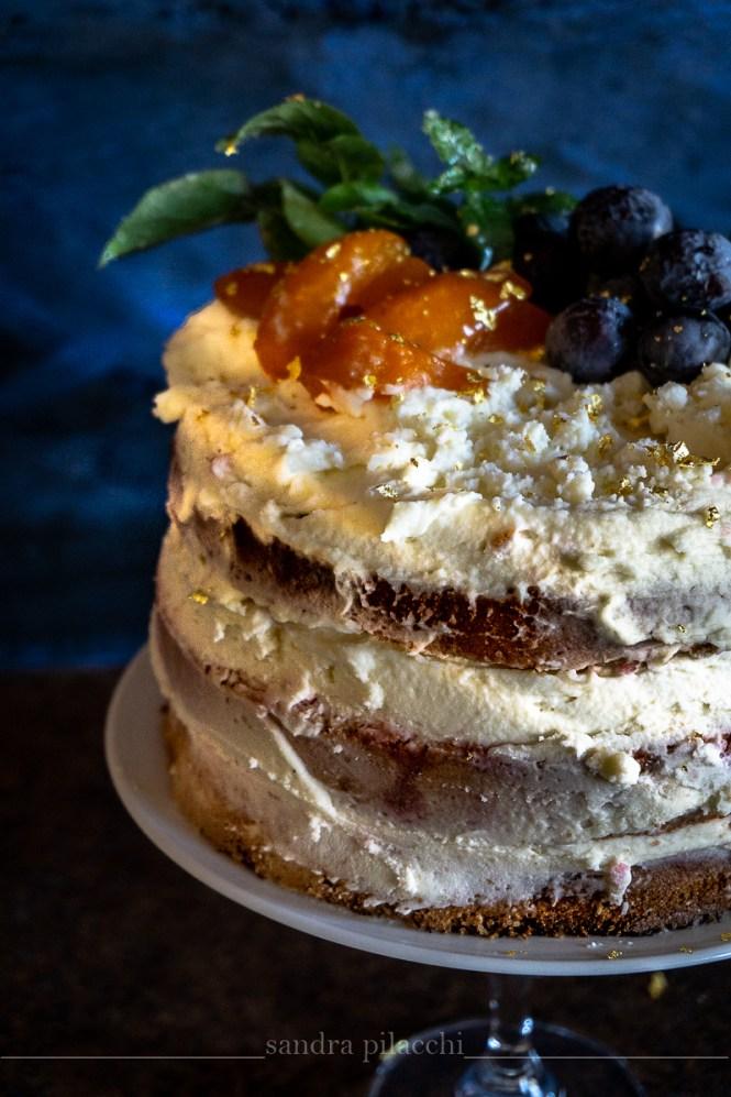 La torta nuda, naked cake