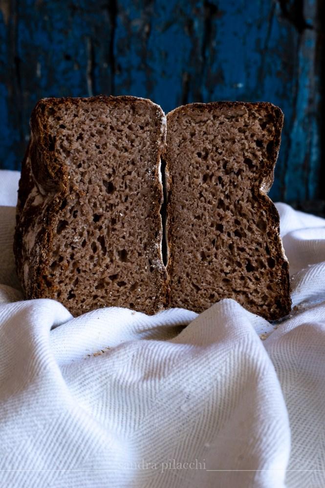 Pane senza glutine con farine miste