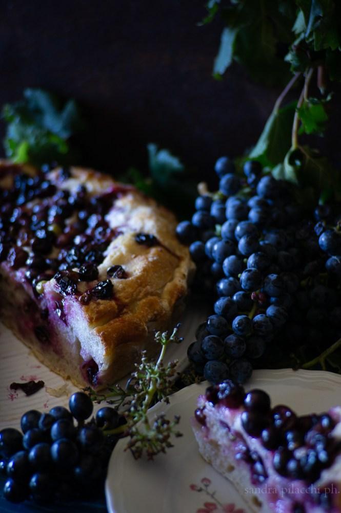 Torta d'uva fragola