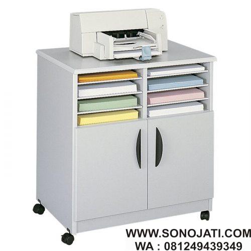 Meja Printer Minimalis Stand Printer