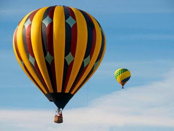 hot air balloon # 77
