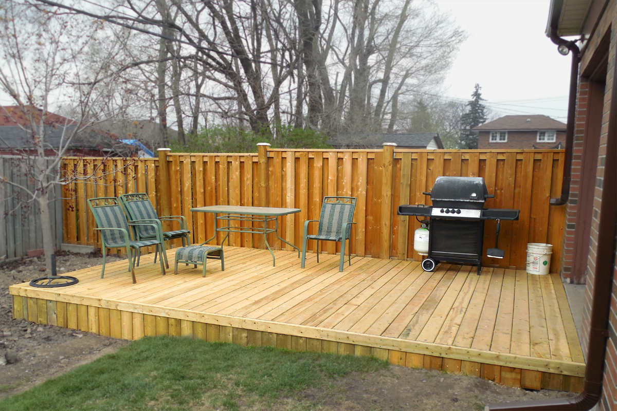 Choosing The Right Deck For Your Wine Country Backyard on Small Yard Deck id=58110