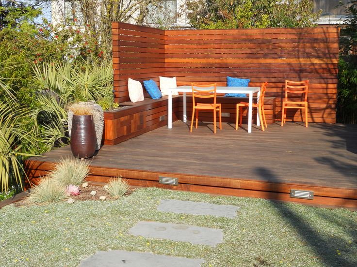 Choosing The Right Deck For Your Wine Country Backyard ... on Small Yard Deck id=14475