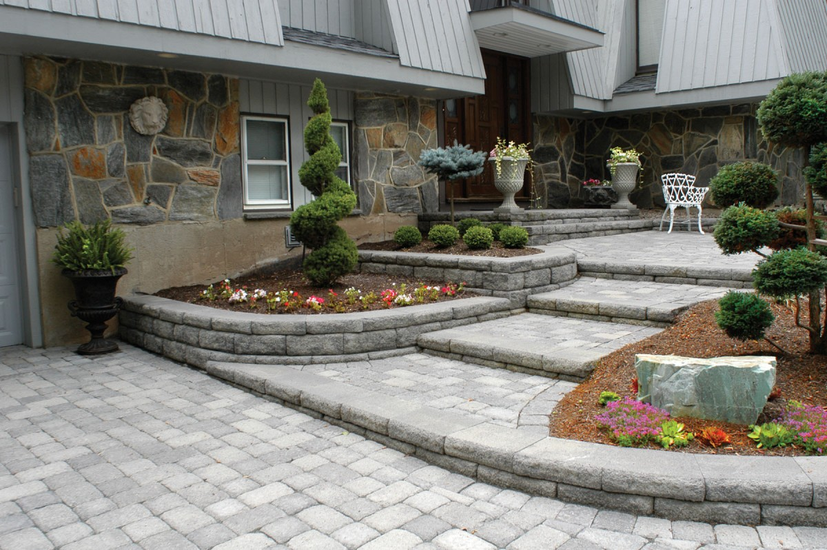 Create a Beautiful Drought Resistant Front Yard on Backyard Hardscape Design id=26143