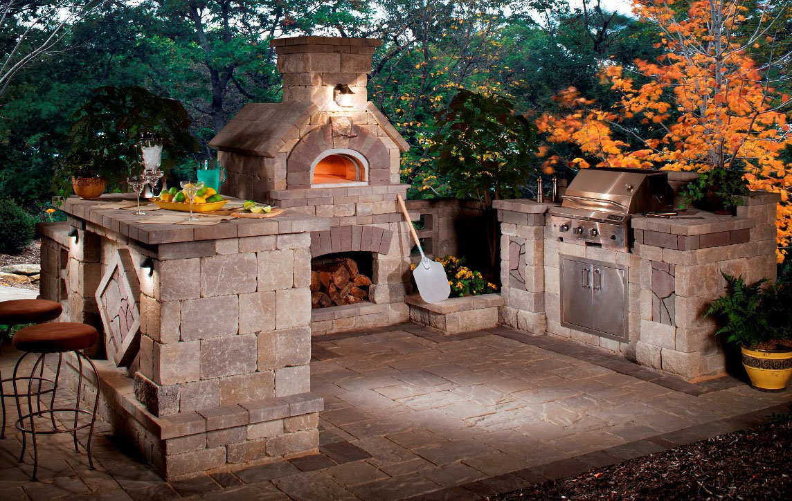 5 Gorgeous Outdoor Rooms to Enhance Your Backyard on Outdoor Kitchen And Fireplace Ideas id=87801
