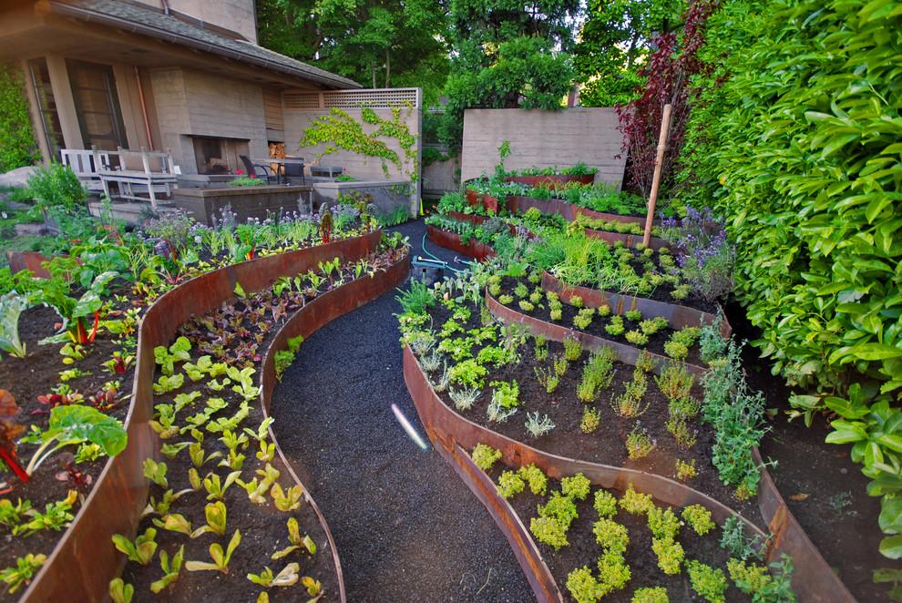 5 Easy Ways to Create a Stunning Vegetable Garden on Backyard Layout id=74475