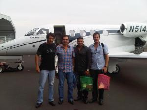 Miguel Pádres Elias Avion Embraer Phenom 100