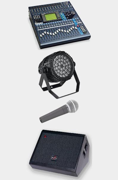 Sonora - venta de equipos de sonido e iluminación