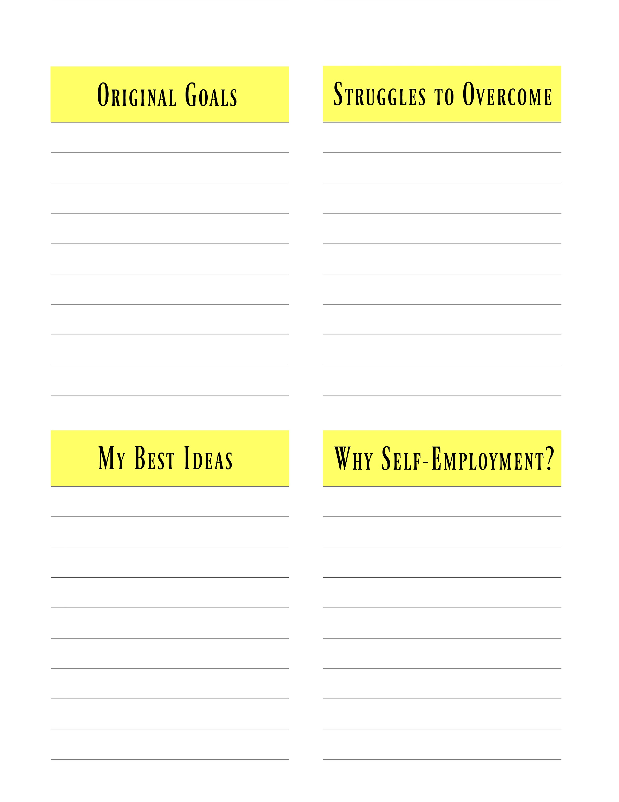 Writing Your Blogging Success Story Motivational Exercise