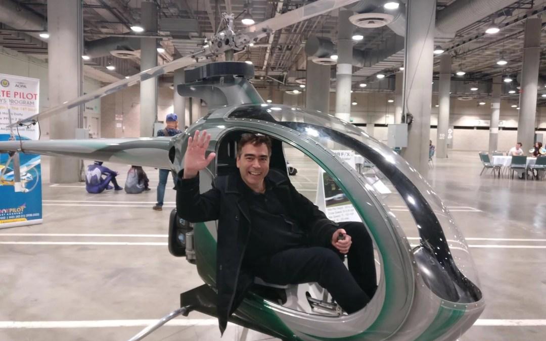 Abran Paso, llegó en el Taxi Volador!