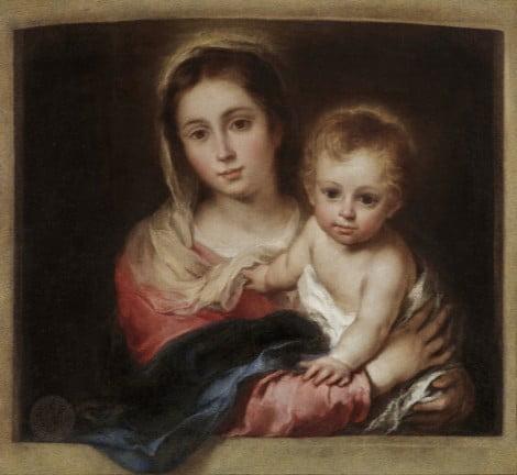 La Virgen de la servilleta