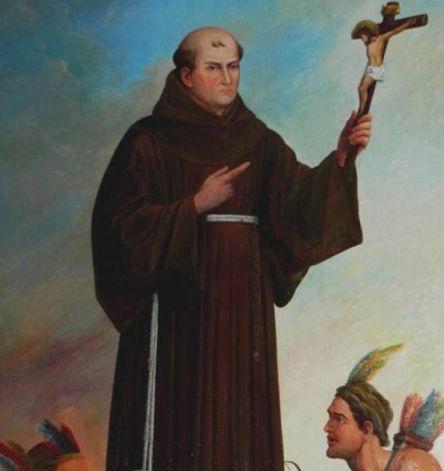 Fray Junípero Serra, defensor de los indios