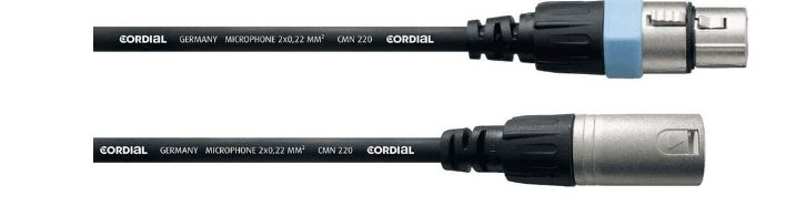 Cable XLR macho - XLR hembra (balanceado) | Sonrye Fotografía