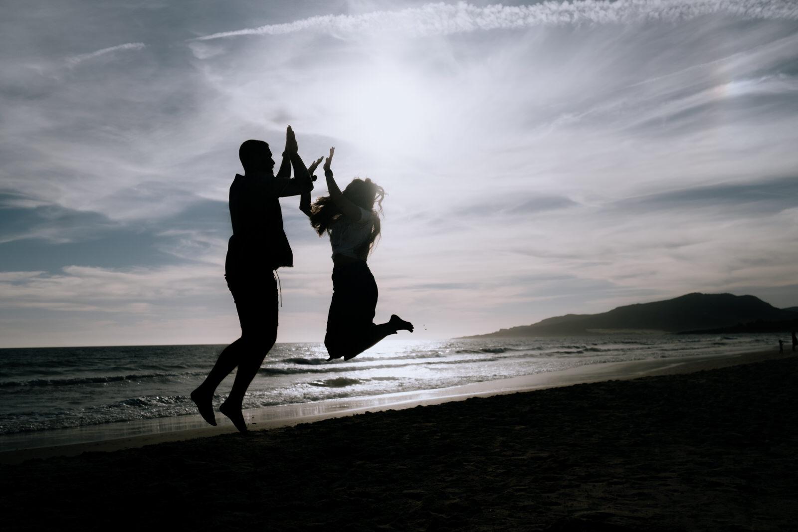 Sesión de pareja en la playa  Maria y Álvaro  Sonrye Fotografia