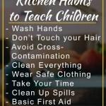 Healthy & Safe Kitchen Habits to Teach Children