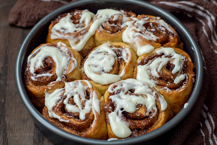 No Yeast Jumbo Cinnamon Rolls In Less Than One Hour Son Shine