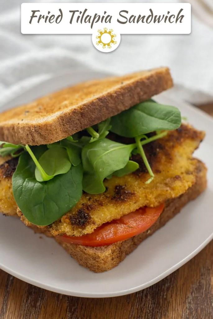 Fried Tilapia Sandwich