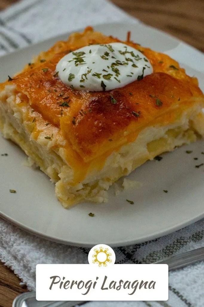 Pierogi Lasagna
