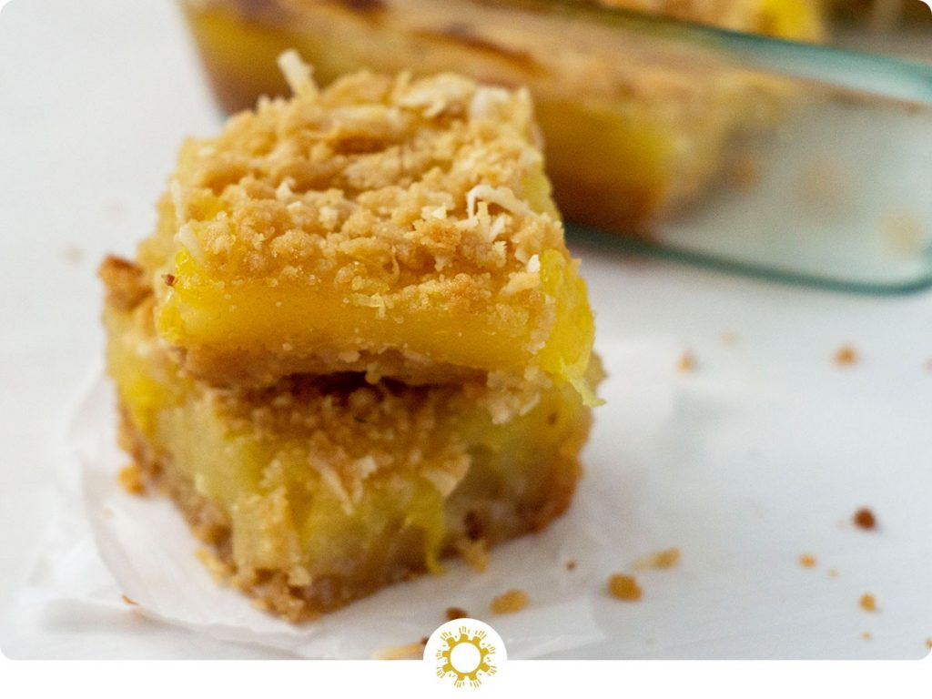 Pineapple Coconut Dessert Bars