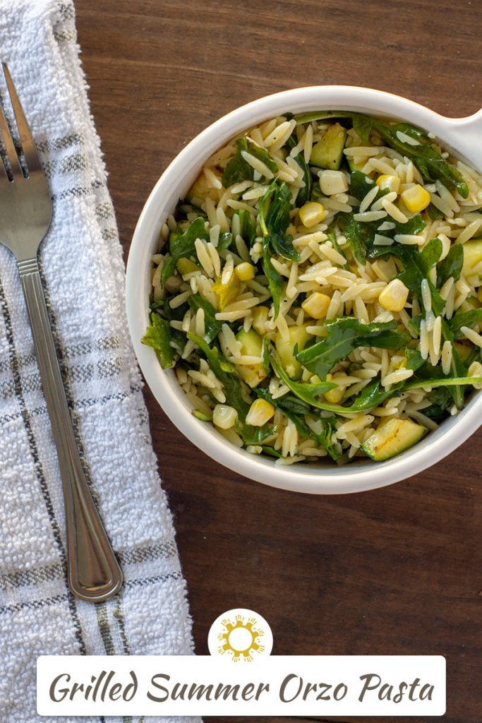 Grilled Summer Orzo Pasta