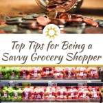 There are a few things that you can do on your next trip to the grocery store to make it go faster, and save money by becoming a savvy grocery shopper. #groceryshopping