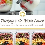Packing a No Waste Lunch (For School or Work)