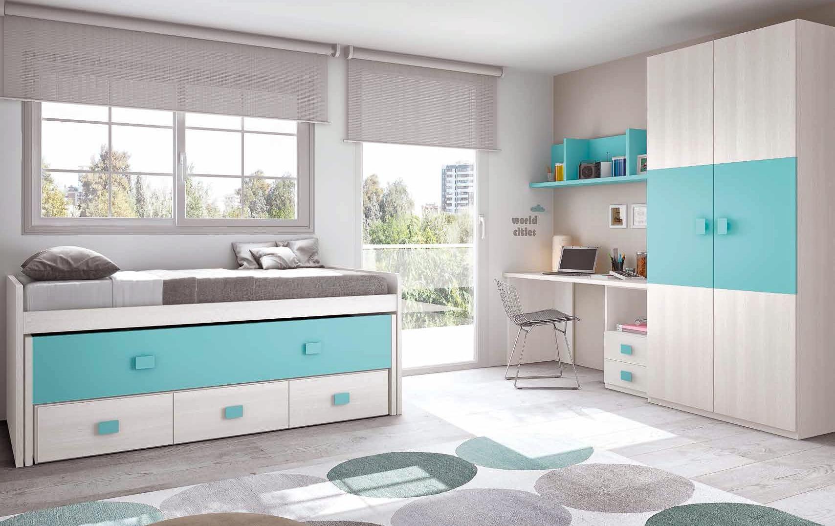 Chambre Enfant Complete Moderne Amp Color GLICERIO SO NUIT